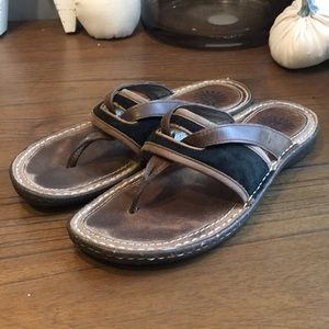 UGG leather sandals size 7